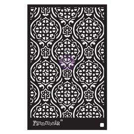 Pochoir décoratif Finnabair Victorian Tiles 15X22cm 0.8mm