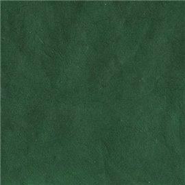Papier népalais lokta Lamali vert grisé très foncé