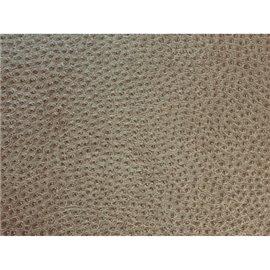 Papier simili cuir reptile Ficelle en relief 50x70cm