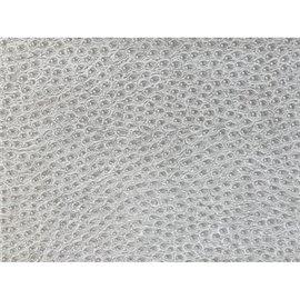Papier simili cuir reptile Gris Clair en relief 50x70cm