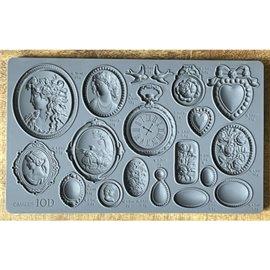Moule décoratif IOD en silicone Cameos camées