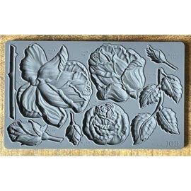Moule décoratif IOD en silicone roses