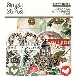 Die Cut Simple Vintage Rustic Christmas