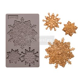 Moule ReDesign en silicone Snowflake Jewels