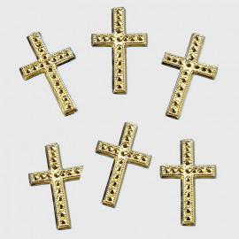 Embellissements Croix or