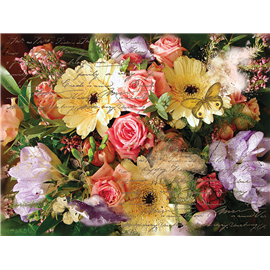 Transfert pelliculable Hokus Pokus Royal Blooms Decor-Weave