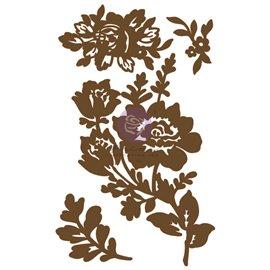 Chipboard Diecut Branches Fleurs