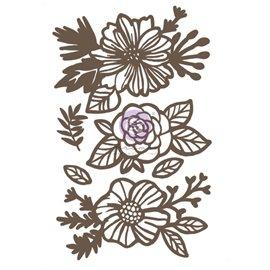 Chipboard Diecut Roses