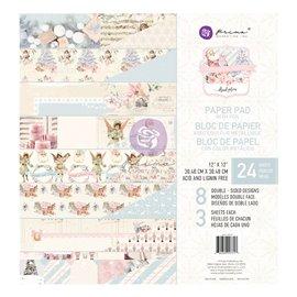 Papier Scrapbooking Christmas Sparkle 30x30cm assortiment avec couleurs métalliques