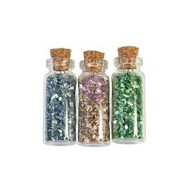Fioles de paillettes Collection Christmas Sparkle