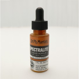 Encre acrylique Spectralite gold amber