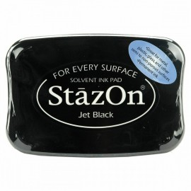 Tampon encreur Stazon noir