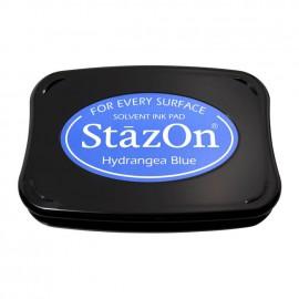 Tampon encreur Stazon bleu hydrangea