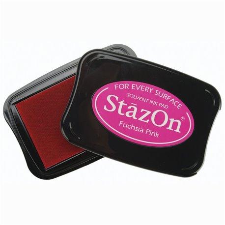 Tampon encreur Stazon fushia pink