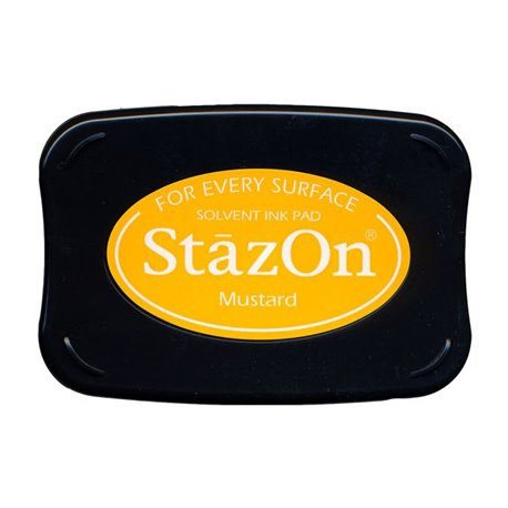 Tampon encreur Stazon moutarde
