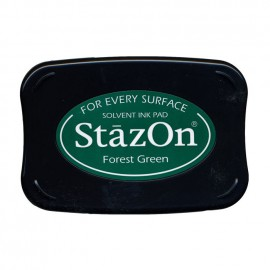 Tampon encreur Stazon forest green