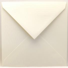 Enveloppes carré ivoire 14x14cm qu50