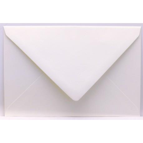 Enveloppe rectangle vergé blanc 12x18cm à l'unité