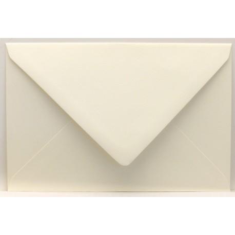 Enveloppe rectangle vergé crème 12x18cm à l'unité