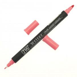 Feutre Zig pointe ronde chalk rose pastel