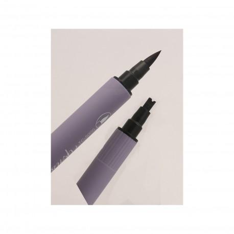 Feutre zig calligraphie noir pinceau et double ligne