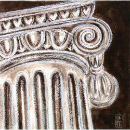 Carte d'art Foucher Poignant colonne I