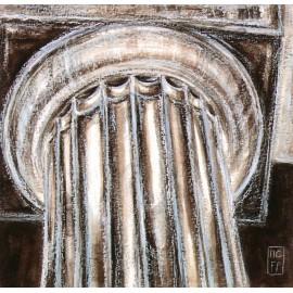 Carte d'art Foucher Poignant colonne II