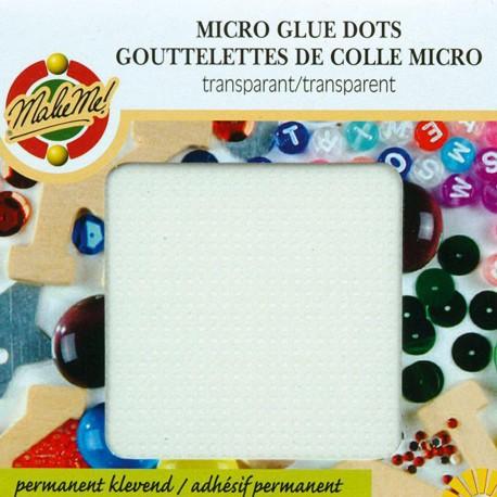 Pastilles de colle glue dots 768 pastilles 3mm adhésives