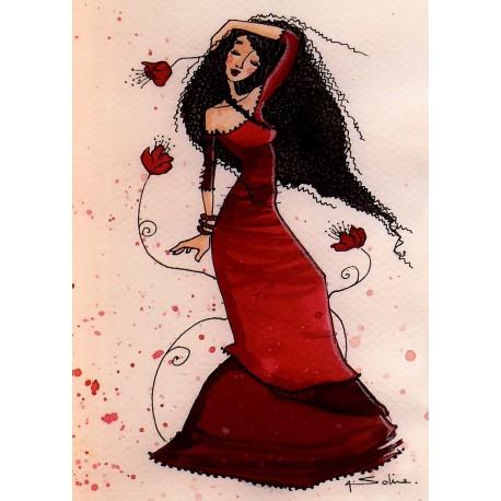 Carte postale Anne Soline Ornella