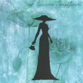Carte postale à l'ombre des belles de soizic izzi