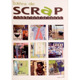 Magazine Idées de scrap album de scrapbooking n°3