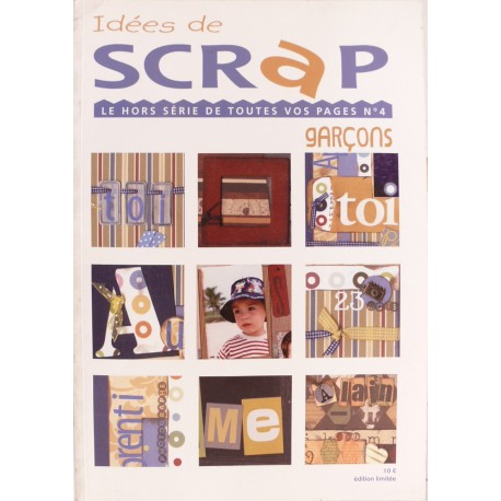 Magazine Idées de scrap album de scrapbooking n°4