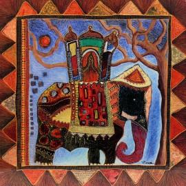 Carte postale Maugeri sur la route des indes