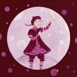 Carte postale pillault ma petite bulle à moi