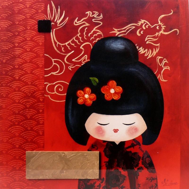 carte postale encadrement lakraa yuko deco achat vente. Black Bedroom Furniture Sets. Home Design Ideas