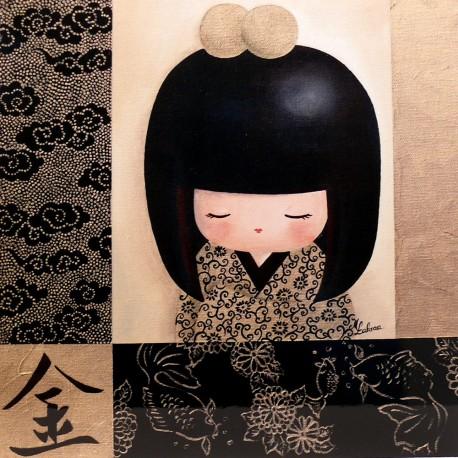 carte postale encadrement lakraa atsuko deco achat vente. Black Bedroom Furniture Sets. Home Design Ideas
