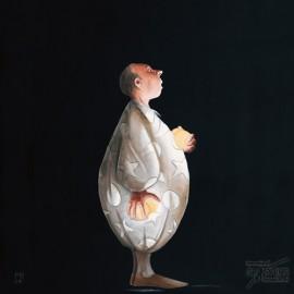 Carte postale Rouillon le jongleur I