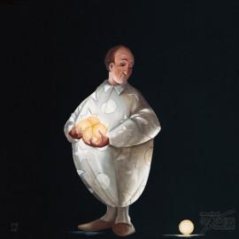 Carte postale Rouillon le jongleur III