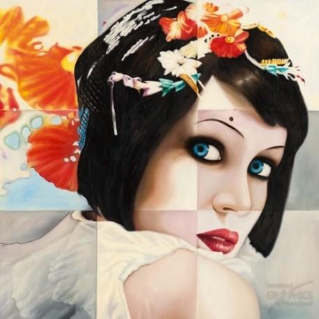 Carte postale Shirin donia geisha II