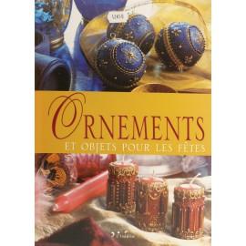 Livre ornements et objets pour les fêtes