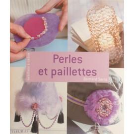 Livre créations bijoux perles et paillettes