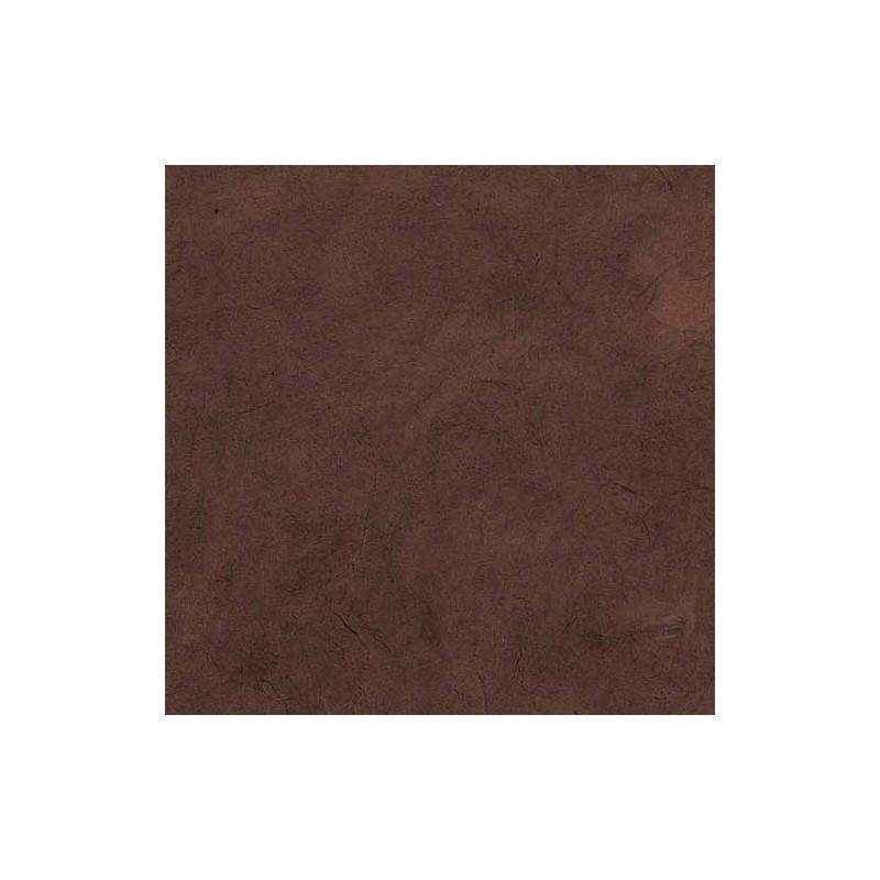 Lamali papier n palais lokta fantaisie marron glac - Papier peint marron glace ...