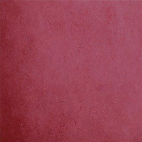 Papier népalais lokta lamaLi laqué rouge