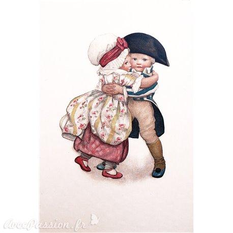 Carte postale Ludom petit couple