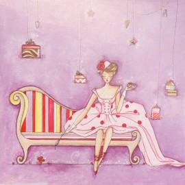 Carte postale Clélia Grillon belle à croquer
