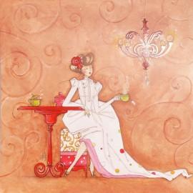 Carte postale Clélia Grillon infusion et petites potions