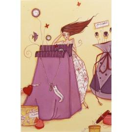 Carte postale Clélia Grillon il etait une fois