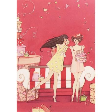 Carte postale Clélia Grillon le secret