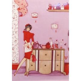 Carte postale Clélia Grillon la marchande d'amour