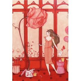 Carte postale Clélia Grillon la surprise